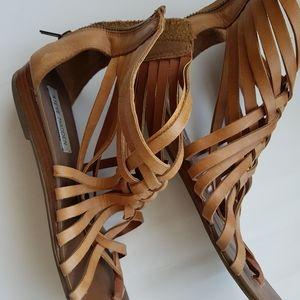 Steve Madden leather Gladiator flat sandal